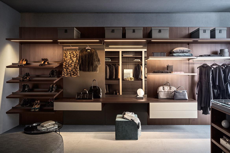 cabina armadio personalizzabile su misura moderna Pianca
