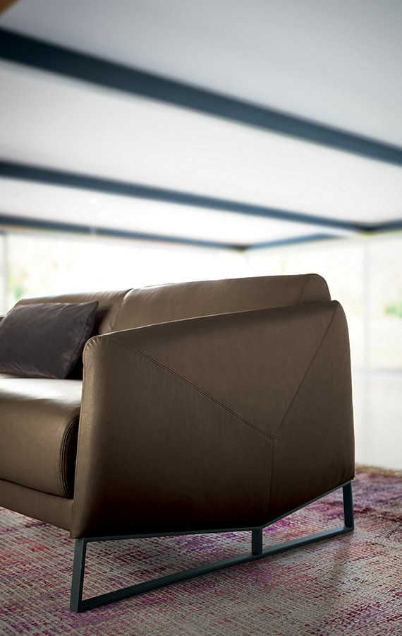 modern italian leather sofas pianca. asolo sofa designed by emilio nanni