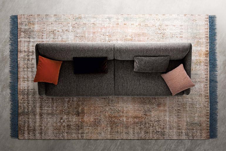 divano moderno di design italiano