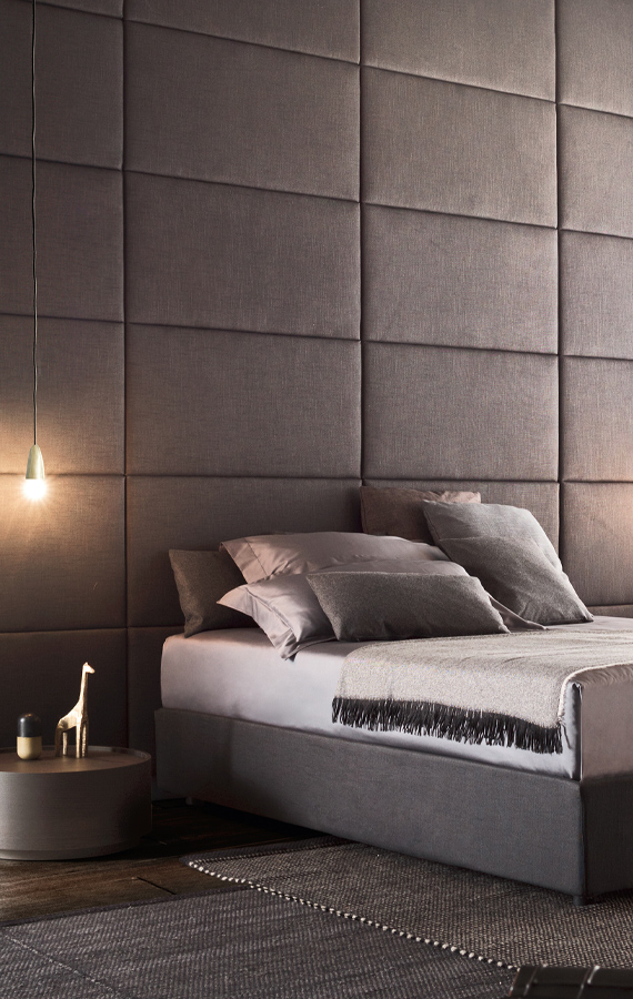 upholstered wallpanels Pianca