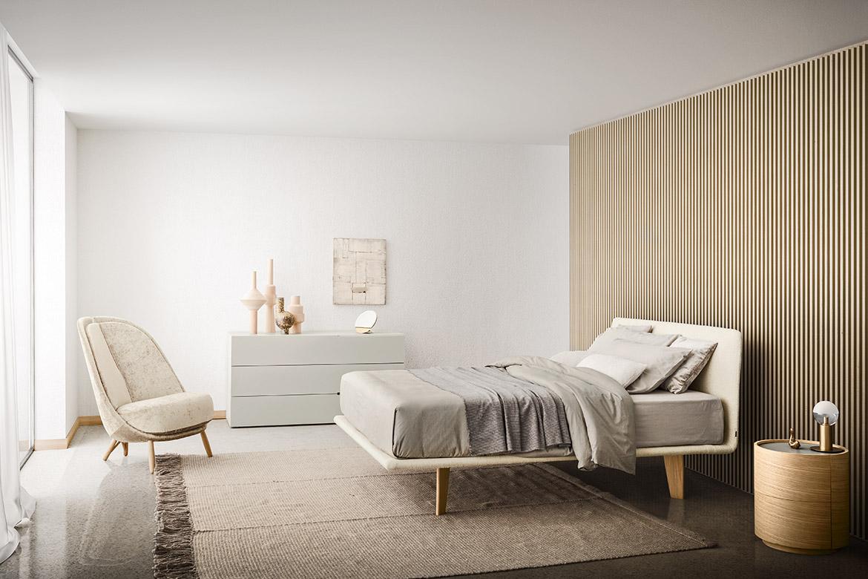 modern italian bedroom furniture, rug handmade in italy