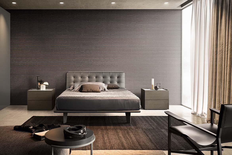 modern italian bedroom furniture pianca