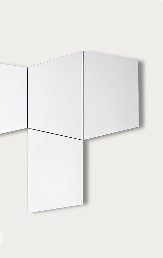 geomtrika trapezoidal componible mirror