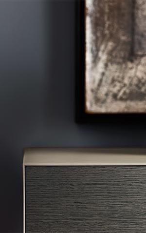 design minimale moderno contenitori notte Pianca