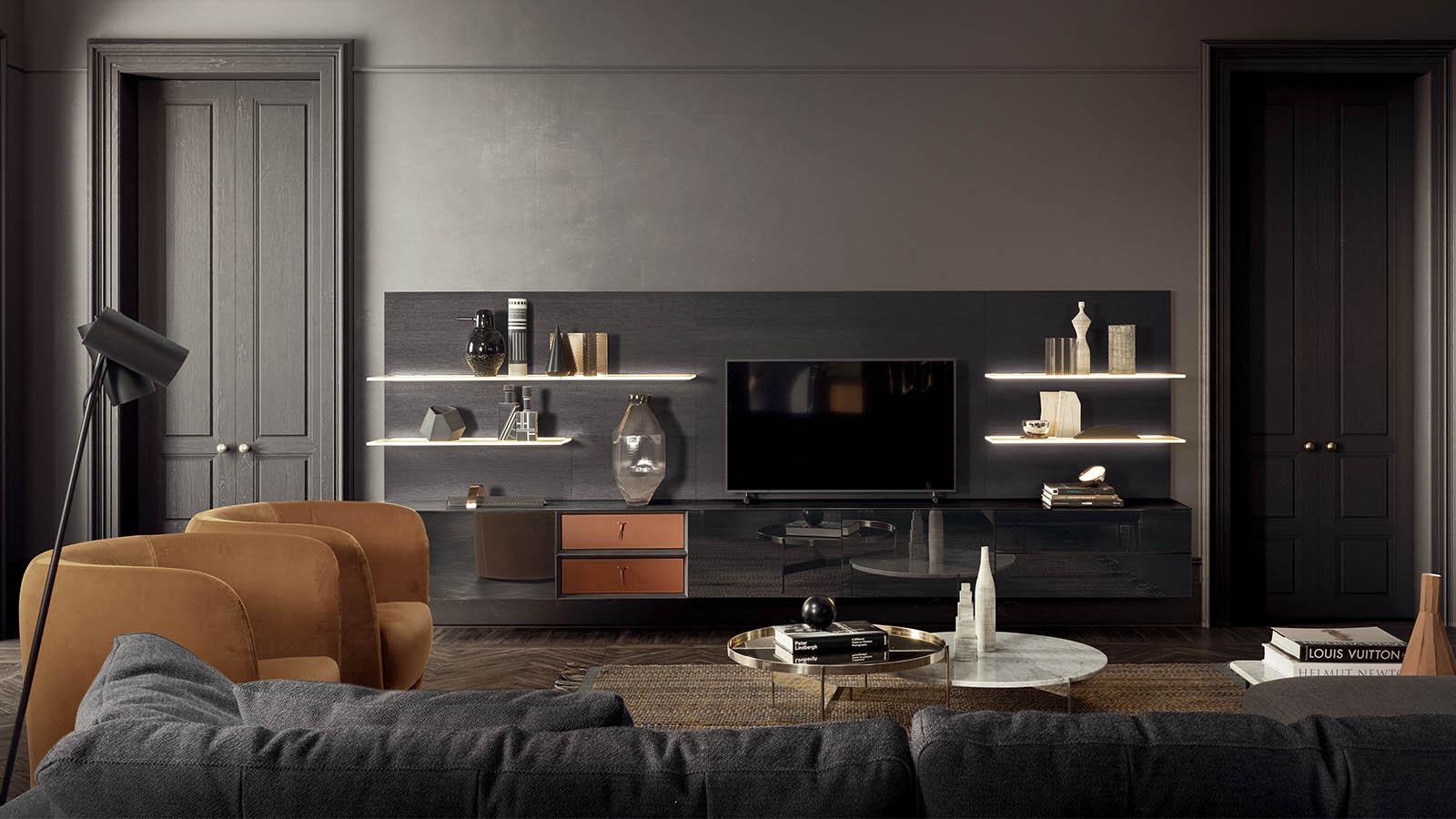 pianca mobili soggiorno