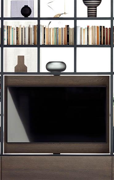porta televisore girevole pianca