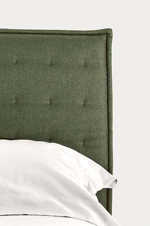 headboard with fabric cover pianca