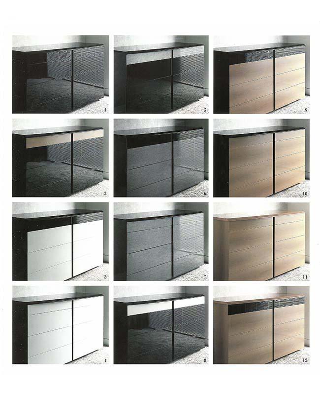 1988 Pianca Inizia la produzione just in time. La modularità e la personalizzazione diventano punti di forza del prodotto.