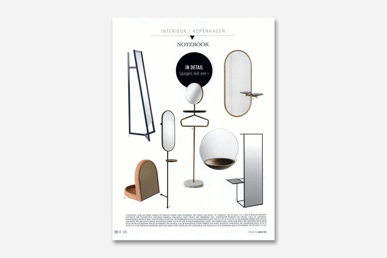 Servomuto con specchio sulla rivista eigenhuis & interieur