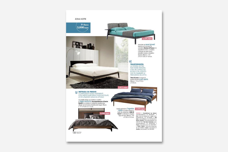letto dioniso design cmp studio per pianca sul giornale cose di casa