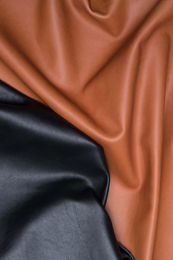 pelli sostenibili realizzate senza metalli pesanti all'interno di una filiera corta che riutilizza al massimo gli scarti.
