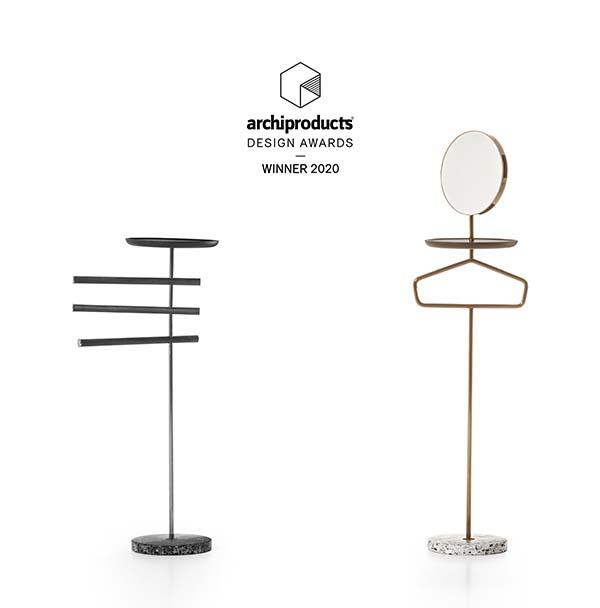 Contralto family valletstand designed by cmp studio per pianca