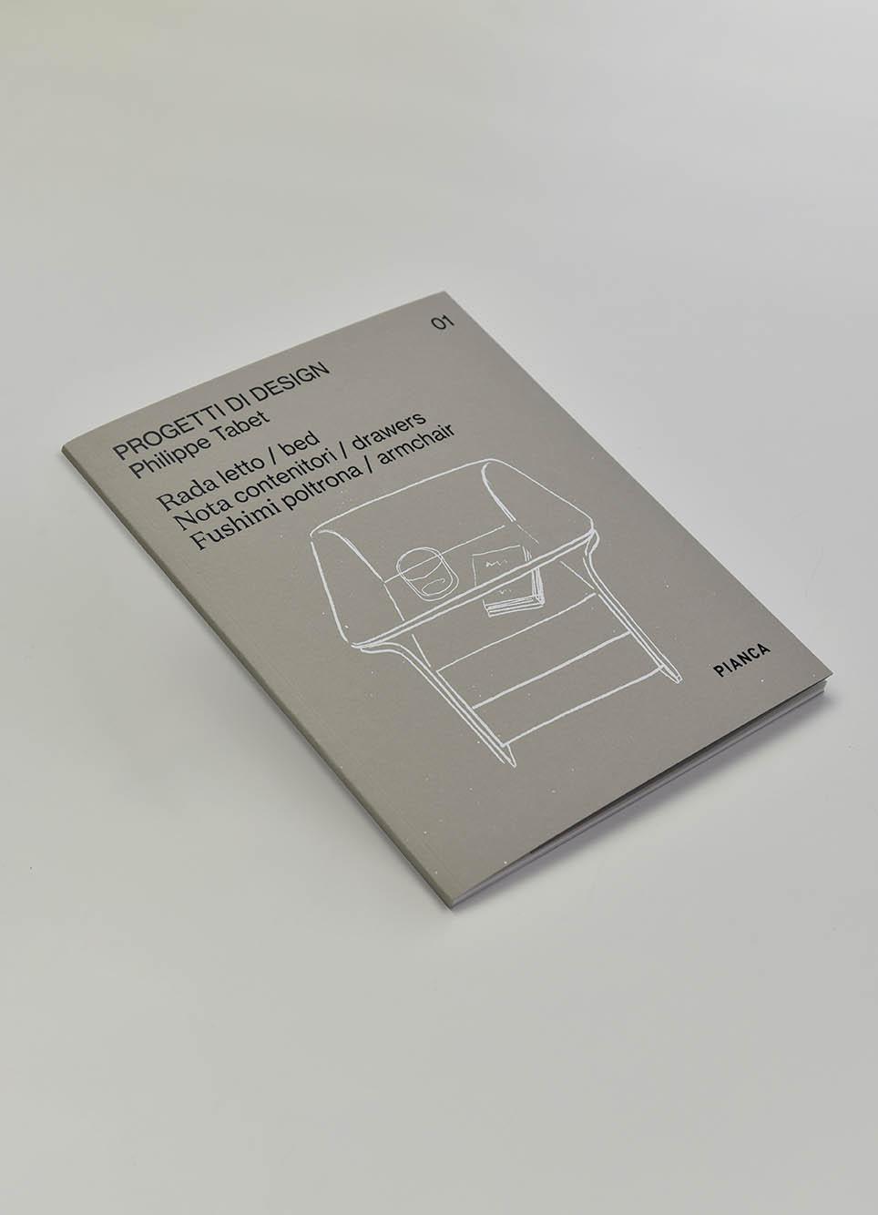 brochure Philippe Tabet progetti di design 01 Pianca