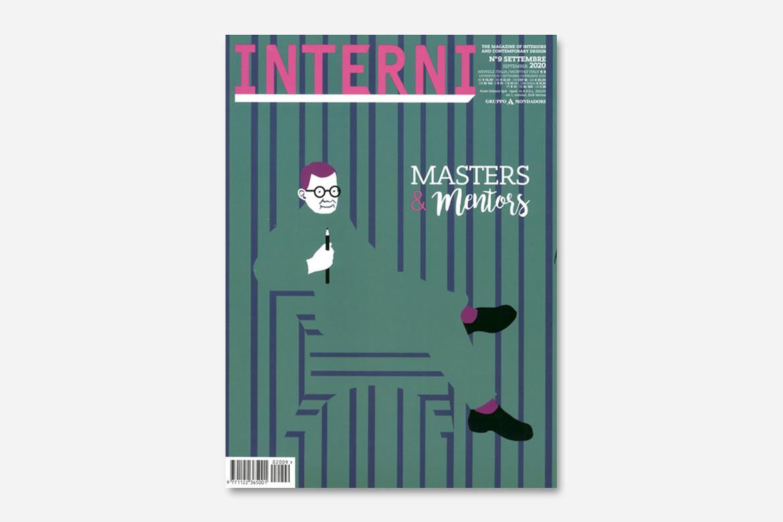 Interni magazine cover