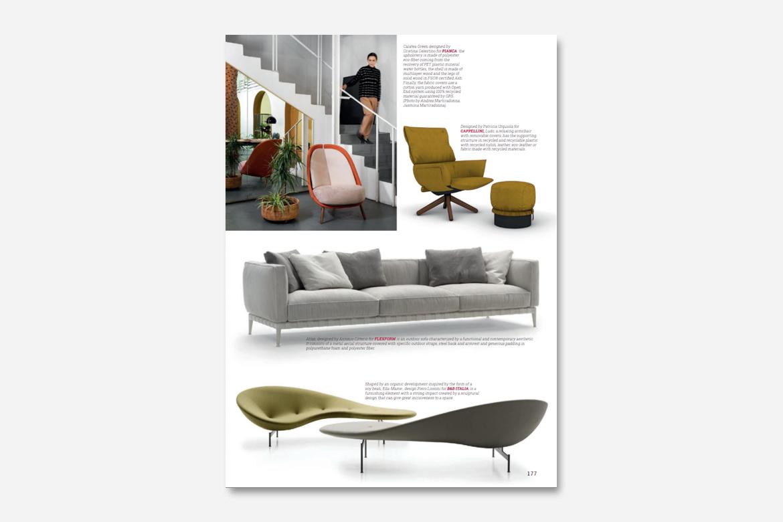 Calatea design by Cristina Celestino - rassegna stampa pianca cose di casa