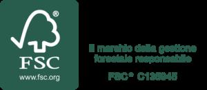 Pianca azienda certificata FSC, il marchio della gestione forestale responsabile azienda sostenibile