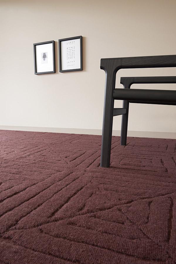 tappeto rosso pibiones modello arzola Pianca