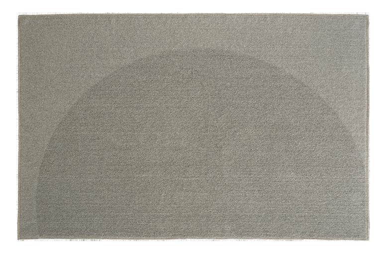 tappeto moderno grigio pianca