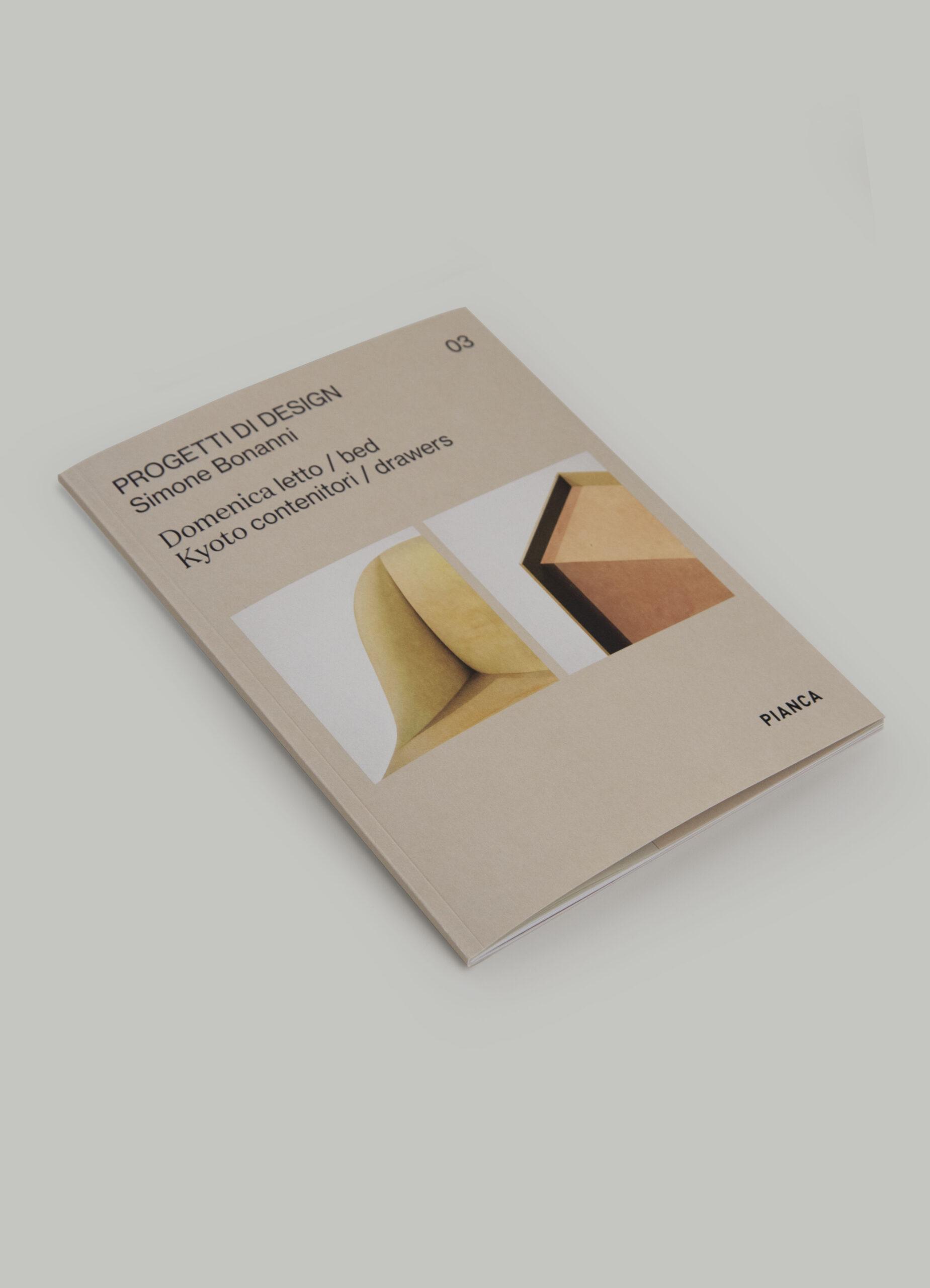 catalogo Domenica Kyoto novità progetti di design Simone Bonanni Pianca