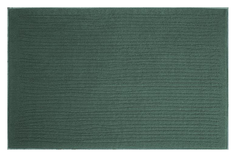 tappeto a righe verde design Pianca