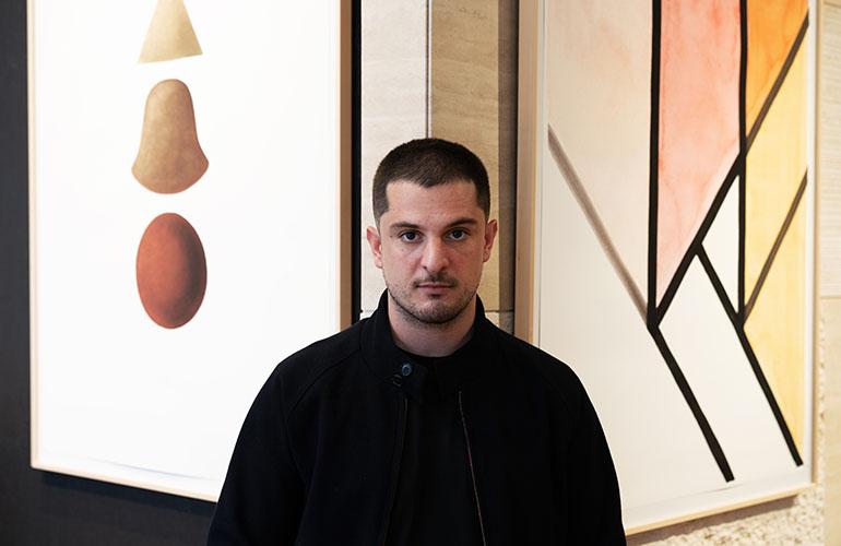 orme la personale dedicata al designer Simone Bonanni presso Pianca&Partners